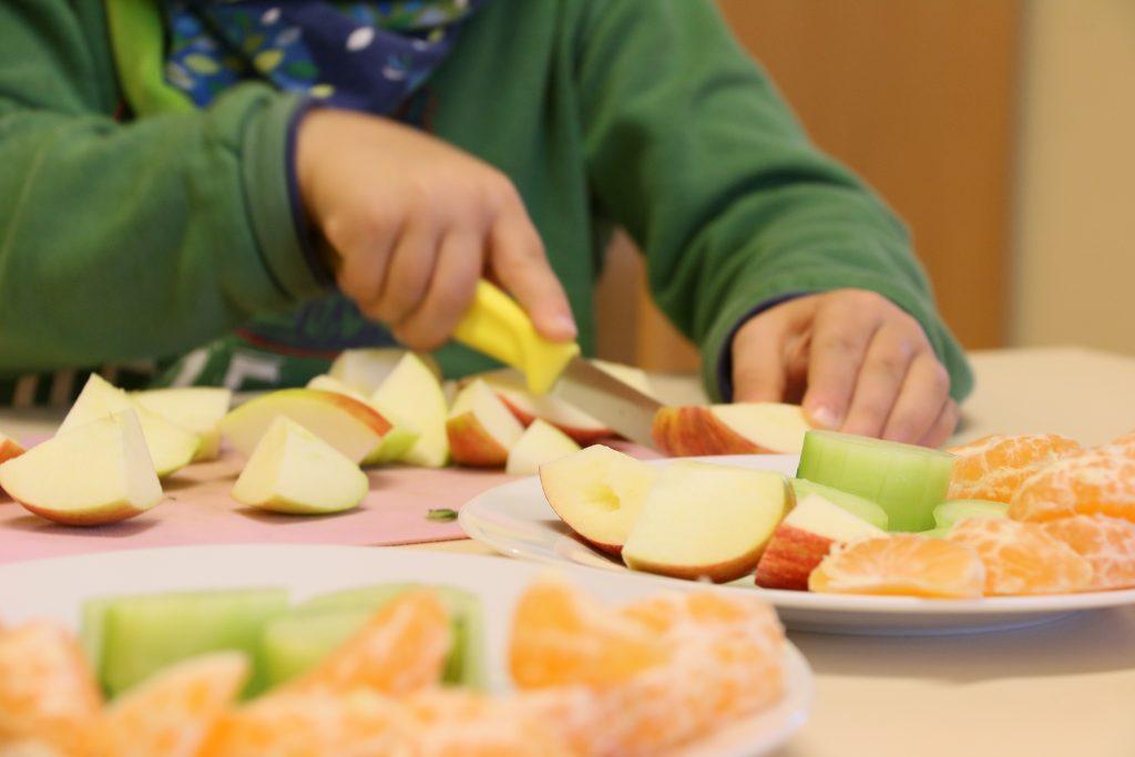 Frühstück Montessori