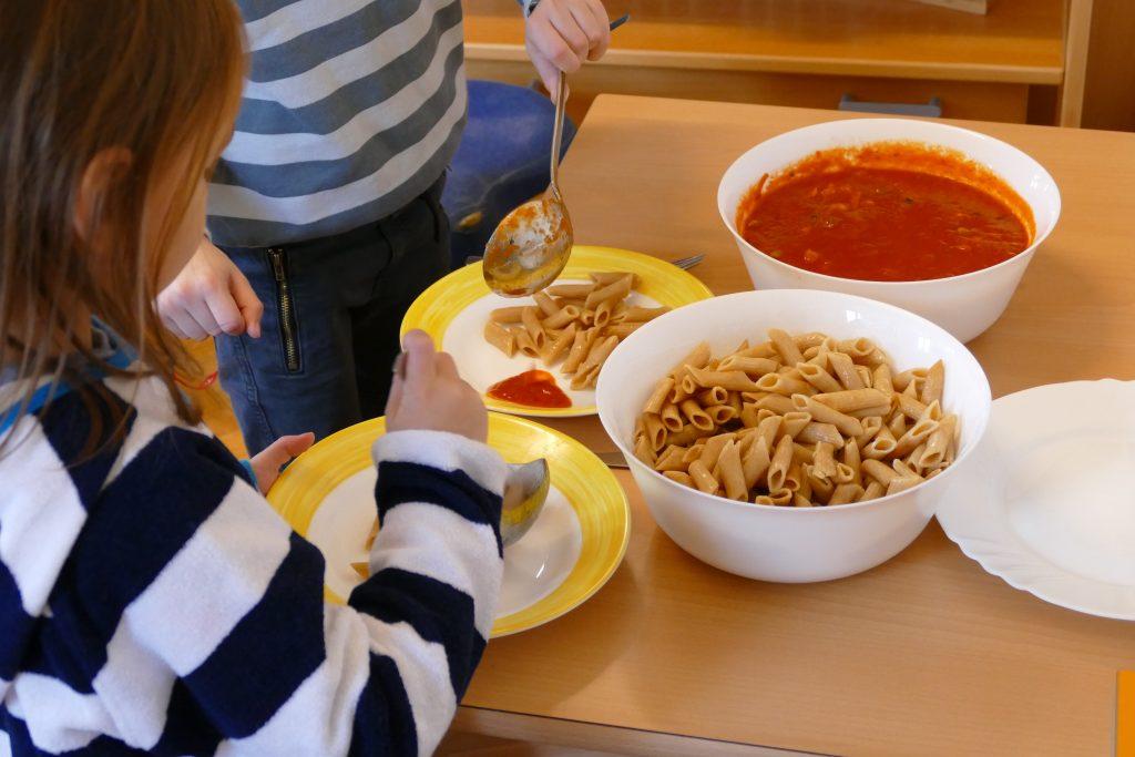 Essen Montessori Holzkirchen